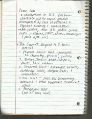 Crime Lab Notes