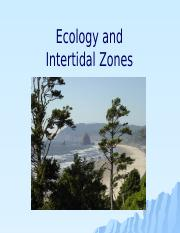 16 - Ecology, intertidal (updated)