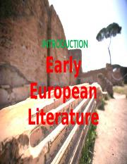 early-european-literature.pptx