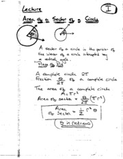 Lecture 17 (Notes)