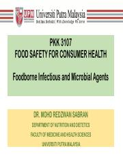 2-3 Food Safety - Foodborne Infectious and Microbial Agents.pdf