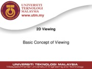 lecture14-2d-viewing-part-i