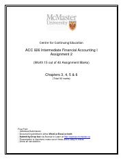Assignment 2 ACC 926 Intermediate I - March 2016 (2).pdf
