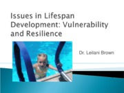 Issues in Lifespan Development