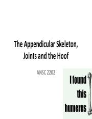 Week 3 Lecture_Appendicular Skeleton_Hoof and Joints Spring 2017.pdf