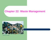 ES Chapter 22 Waste Management with pictures