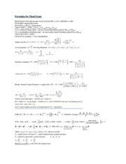 FINA3310_Formulas for Final Exam_SUM12