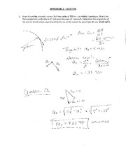 MECH 102 HomeWork #2 Student solution  2012