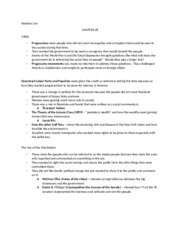 Chapter 28 Notes