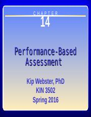 performance based assessment