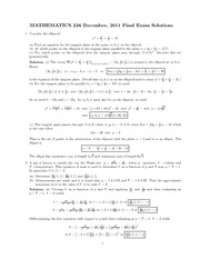 math226_FinalExam with solution