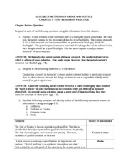 Answers to Chapter Review Questions-3
