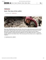 Syria_ The story of the conflict - BBC News.pdf