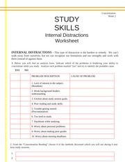 Activity 5 - Internal Distractions Analysis Worksheet (GS103A-02)