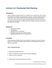 2.3.7.A ResidentialSitePlanning.docx