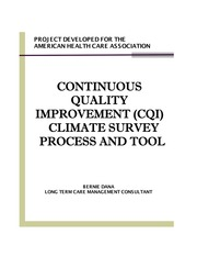cqiclimatesurveyprojectreport