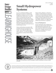 Small Hydropower Systems