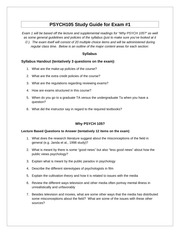 PSYCH100 Practice Operant Conditioning Worksheet - Practice with ...