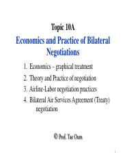 Topic 12A - BilateralNego-Economics-12march2015