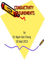 KF_1a_Conductivity Measurements_NGC_ 2013.ppt