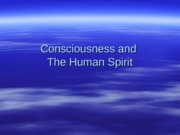 PY317 - 4 - Consciousness and the Human Spirit-2