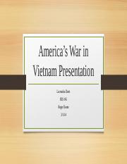 America's War in Vietnam Presentation