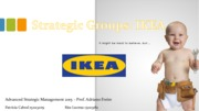 MSC - Advanced Strategic Management - 2015 - Strategic Groups - IKEA Presentation II