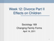 Soc 169 Divorce Part II 4-14-11(1)