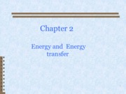 Chapter 2_Energy Analysis