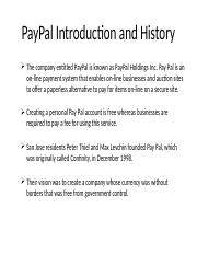 PPT on PayPal.pptx