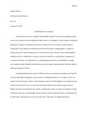 Individualism Final.docx