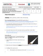 HeatAbsorptionGizmoStudent.doc - Name Date Student ...