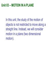 Notes03_2D Motion