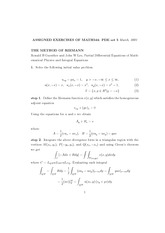THE METHOD OF RIEMANN