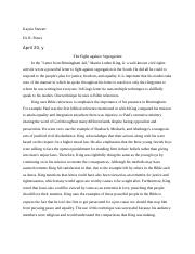 Martin luther king essay