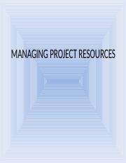 managing-project resources.ppt