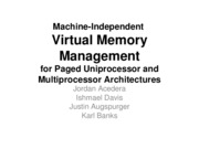 VirtualMemoryManagement