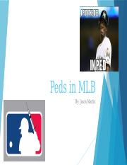 Peds in Baseball Presentation.pptx