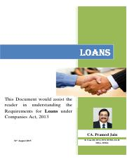 LOANS AND DEPOSITS CA 2013
