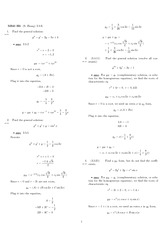 Homework 5 Solution Spring 2008 on Differential Equations with Linear Algebra 1