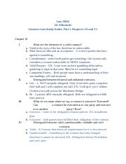 Law 3800, Replacement Contracts Study Guide, Chap. 10 & 11 F13.docx