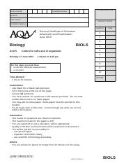 Aqa chem1 ins jan12 wmpinsert to a level chemistry gce 32 pages aqa biol5 qp jun13 urtaz Choice Image