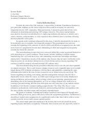 Thesis Statement For An Essay  Pages Course Reflection Essay Pdfpdf Examples Of A Thesis Statement In An Essay also Importance Of Good Health Essay Course Reflection Essay  Course Reflection Essay Initially I  Help Writing Essay Paper
