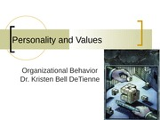 Session 3 2010 (Individual Behavior With Personality and Emotions)