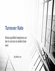 Turnover Rate.pptx
