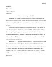Differences Between Japan and the United States Essay.pdf