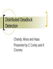 Chandy-Misra-Haas-DistDeadlockDetection.ppt