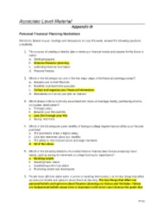 Appendix_B-Personal Financial Planning Worksheet