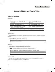 Lesson 9 Middle and Passive Voice - K. Gentry