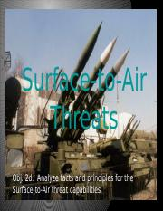 Objective 2d Surface to Air threats.pptx